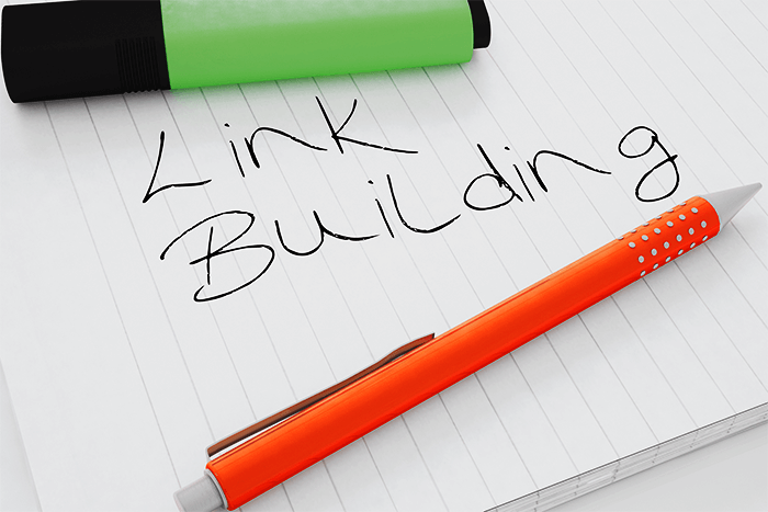 Before the link building compaign develop good content